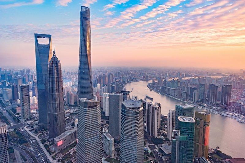 Shanghai on the Yangtze River