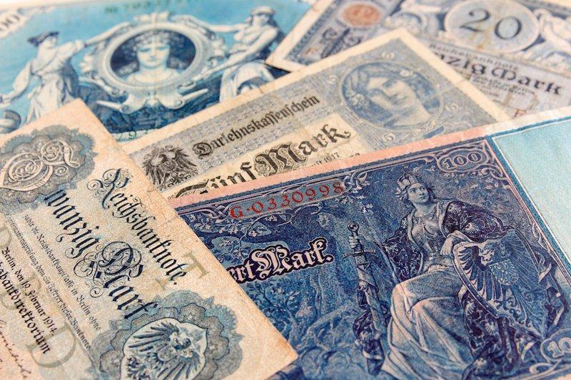 Weimar German Banknotes