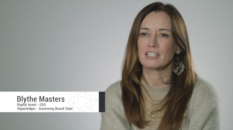 Blythe Masters Hyperledger Digital Asset